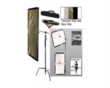 İnterfit Ürünler Reflectors Flexi-Lite 5-in-1 Large Reflector Panel & Stand Kit